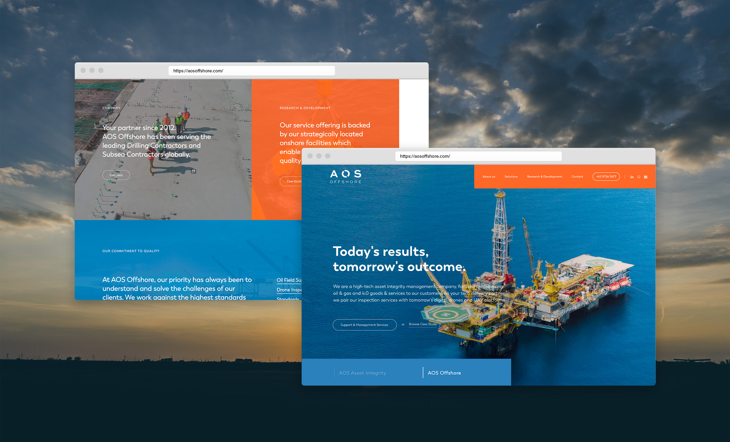 AOS Offshore Website